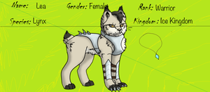 TFK (The Four Kingdoms)-Lea Reference Sheet by Wolf-Alpha