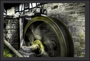 water wheel by Micerbe