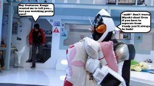 What does Fourze do during his off time? by stickinaroundforever