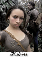 Jodelle as Katniss by Brownilla