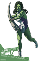 She-Hulk by Pryce14