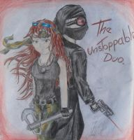 The Unstoppable duo by DracorusTerra