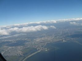 428 over Tampa Bay by crazygardener