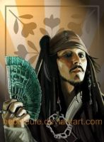 Captain Jack Sparrow by NebelEule