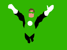 Green Lantern by dragonfang42