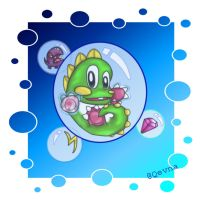 Bubble Bobble Bubbles by Qevna