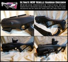 Ultimate NERF Guardian Tac Rifle by MarcWF