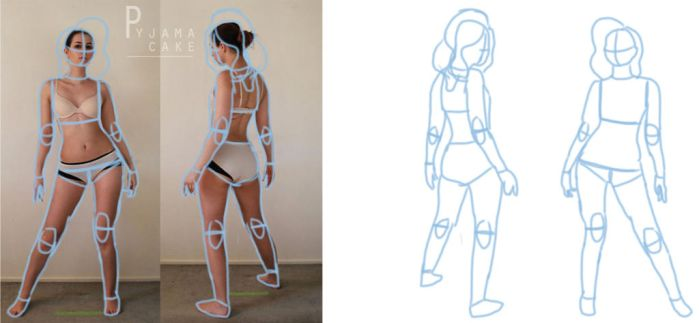 Character Design: BUILDING THE FIGURE by iswagnomatterwhat