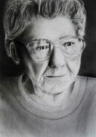 Old Lady in Pencil - Finished by slippy88