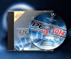 PES 2014 cd+cover by Hshamsi