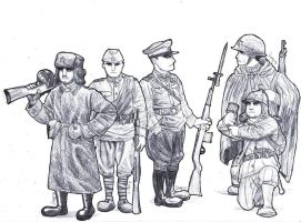 Battlefield Heroes: Russians by AngusMcLeod