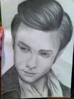 Christopher Colfer by autumnfingers