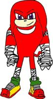 Knuckles The Echidna(Sonic Boom) by tanlisette