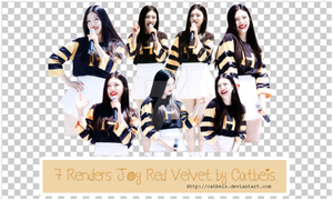 PNG Pack #11: Joy Red Velvet [Catbeis] by Catbeis