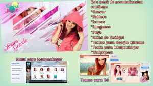 Pack de Personalizacion Ariana Grande by RoohEditions