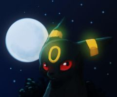Umbreon by Sherushi