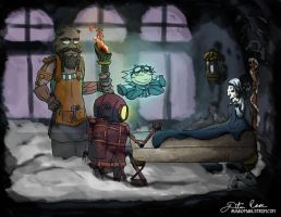 A Christmas Carol - Steampunk Print - UPDATE by thedustud