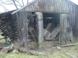Falling Shed by EricaD218
