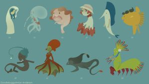 Mermaid Concept 6 by DoodleBuggy