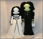 Lily and Herman Munster 1265 by Zosomoto