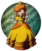 .:Princess Daisy:. 1 by Miapon