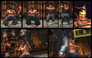 SF X TEKKEN Young Heihachi mod pack by monkeygigabuster