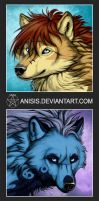 Gifts - Yantus and Askha by Anisis