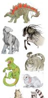 Animal Requests by Saagai
