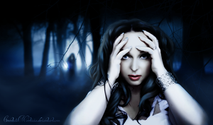 Someone is behind you (Heidi Parviainen) by CountessMorticia