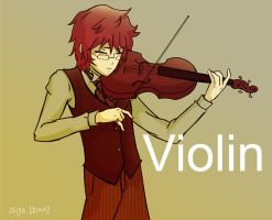 Violin by DarthMorlun