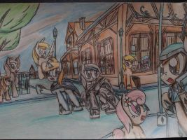 MLP: Nuriel with new world by Paladin360