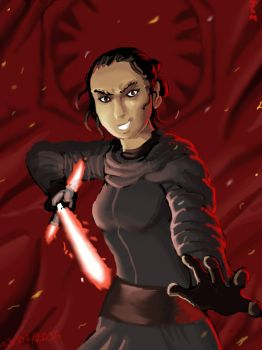 Kylo Rey by Nighteba