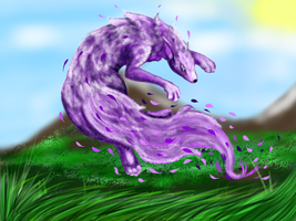 Wind Element Fox by kristhasirah