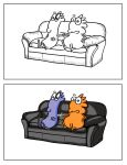 Before and after:Couch potatoes. by DannoGerbil