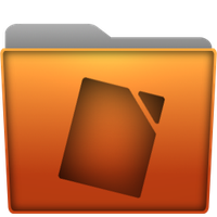 Folder Documents Icon by Kryuko