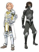 Armors by klinanime