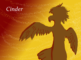 Color Silhouette - Cinder by AgentRainy