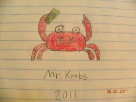 Mr.Krabs by Bowser14456