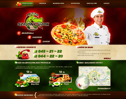 crazy dragon website by t3t5uo