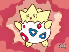 Pokemon Art Academy: Novice Lesson 3.1: Togepi by LordoftheFuzzys
