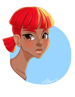 Cheeks by Chao-Illustrations