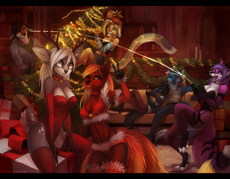 .: Holidays :. by JuliaTheDragonCat