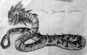 The Bronze Serpent by Labyrinth-Knights