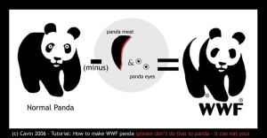 How to make a WWF Panda by Cavin