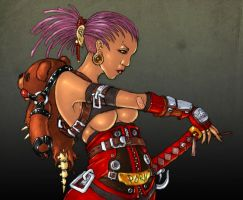 TORI by Faust Nebel COLORED by Voodoodwarf