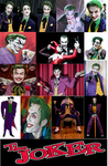 The Joker Cosplay Collage by IronCobraAM