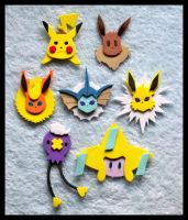 Pins - Misc Pokemon by GwydionAE