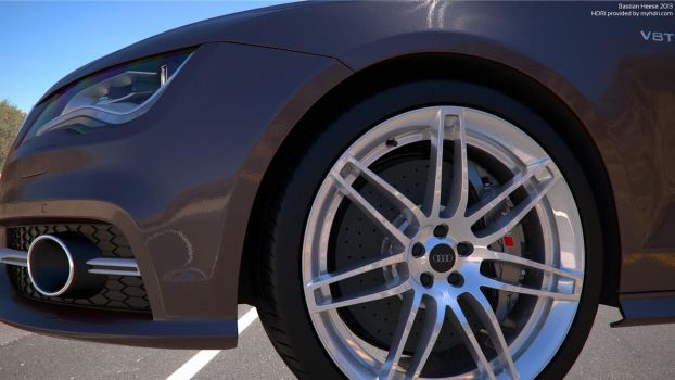 Audi S7 Sportback Material Test by user121o