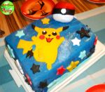 Pokemon Cake by KellyGreeny