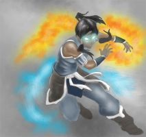 Avatar korra by Hawkmccloud
